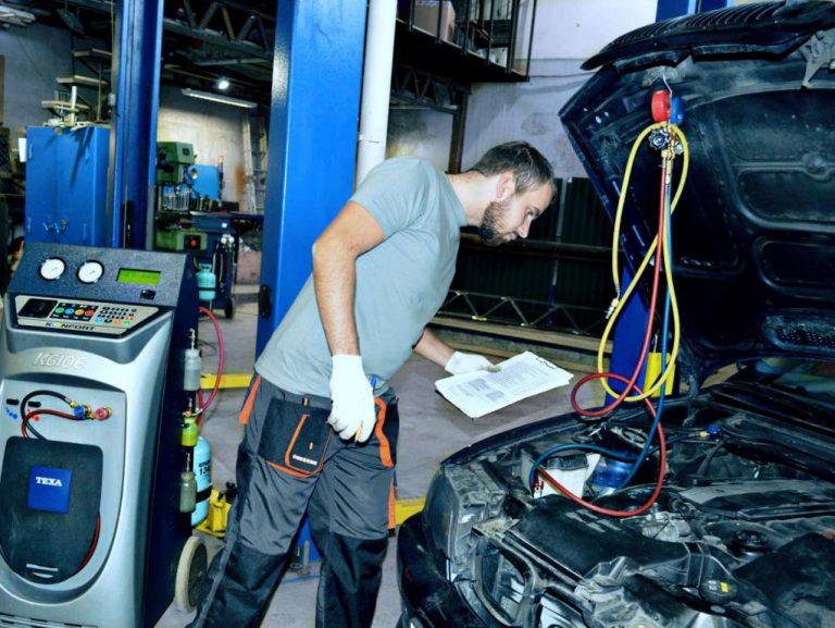 Диагностика кондиционера у автомобиля