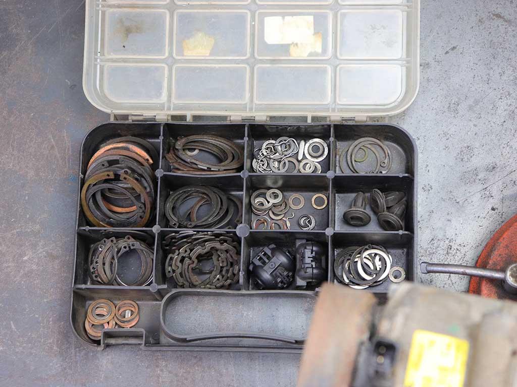 Один из наших наборов метизов для компрессора.