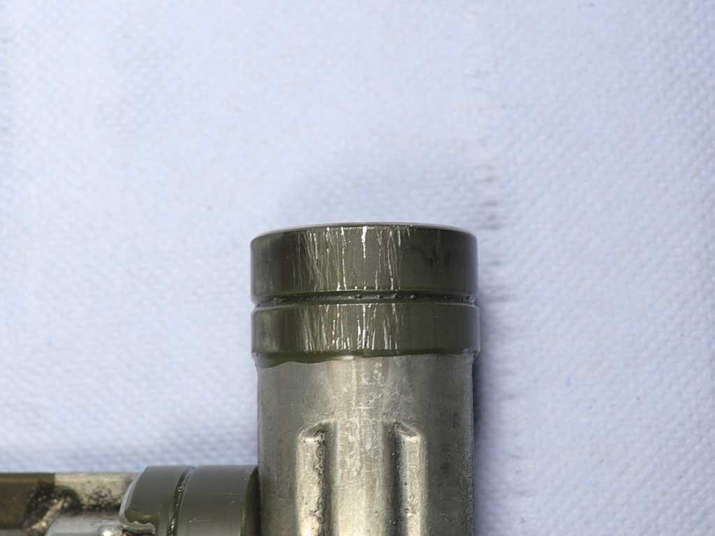Задиры на поршне компрессора
