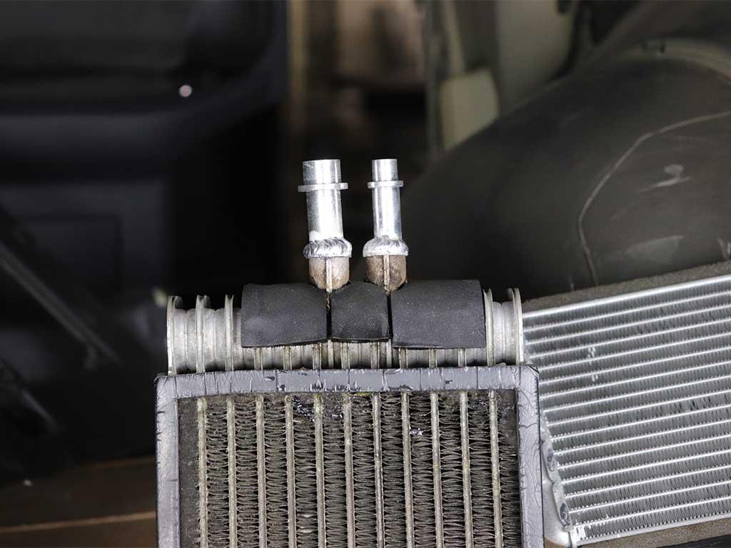 Отремонтированный испаритель Volkswagen Т5