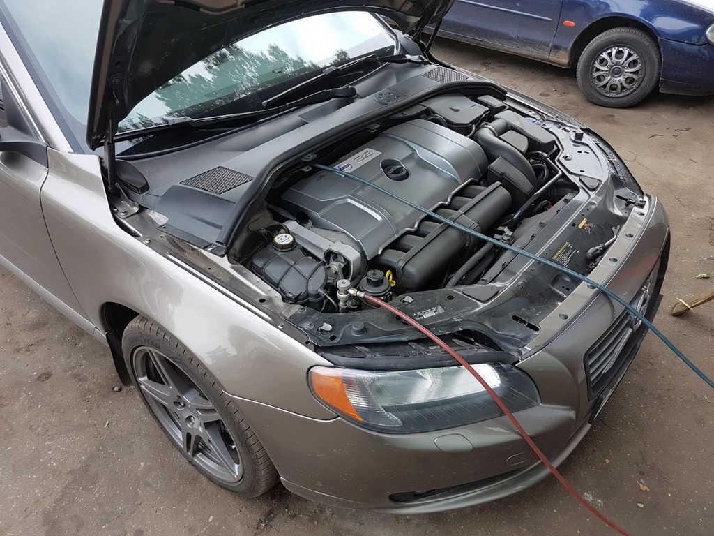 Заправка кондиционера Volvo